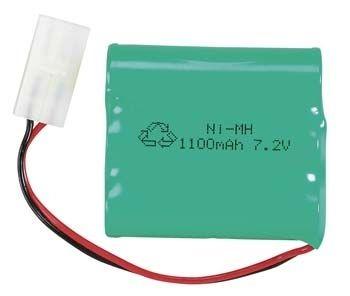 AQUACRAFT AQUM3500 NiMH Batteri 7,2V 1100mAh Tamiya-connector