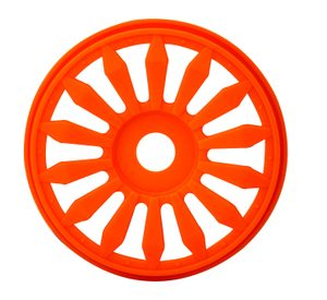 IMEX 7872 1/8 LIZZARD BUGGY RIMS ORANGE (4pcs)