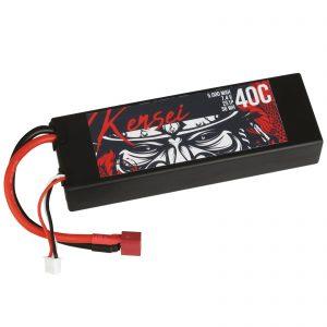 KENSEI LiPo battery 2s1p 7.4V 5000mAh 40C Deans Hardcase